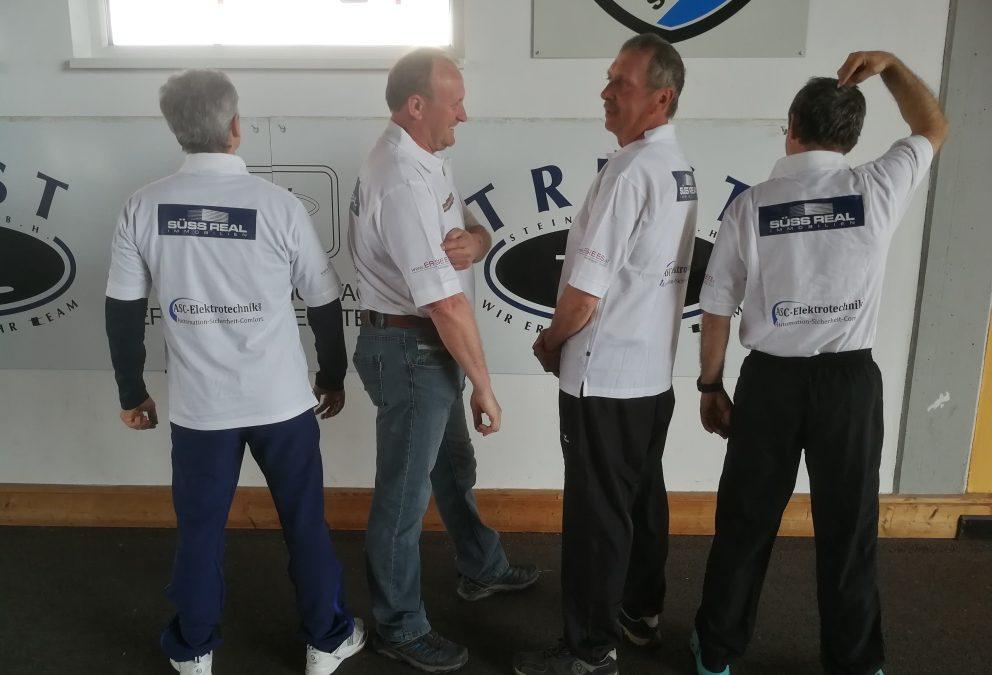 Die neue Shirts unserer Sponsoren sind da…